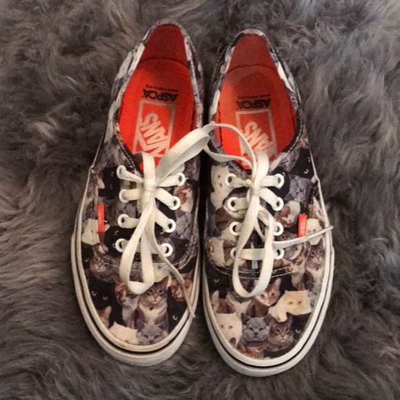 "Vans Shoes - ASPCA ""cat"" Vans"